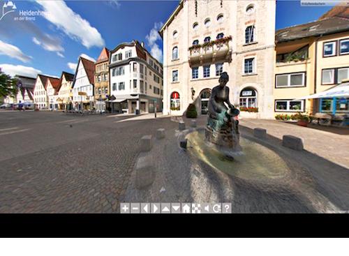 360° Panoramatour durch Heidenheim/Brenz