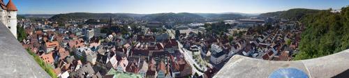 Schlossblick Heidenheim Gigapixel
